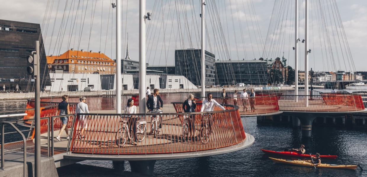 The Circle bridge, Copenhague